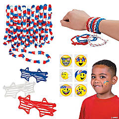 Fun Patriotic Kids' Accessories Kit