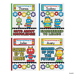 Fun Robots & Gears Draw & Write Journals