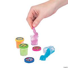 Fun Sayings Mini Slime Containers