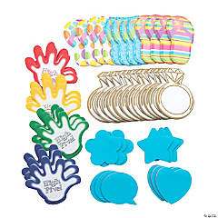 Fun Shapes Sticky Notes Assortment