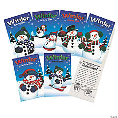 Fun Winter Activity Pads