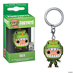 Funko Pop! Fortnite Rex Keychain