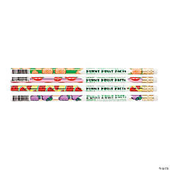 Funny Fruit Facts Pencils - 50 Pc.