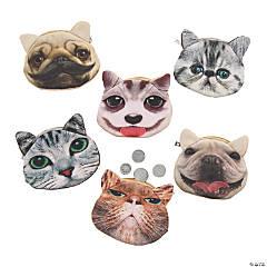 Funny Pets Coin Purses