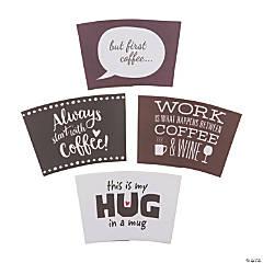 Funny Sayings Coffee Sleeves