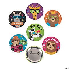 Funtastic Animal Buttons