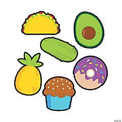 Funtastic Food Friends Bulletin Board Cutouts