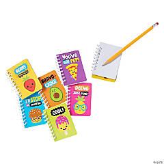 Funtastic Food Friends Mini Spiral Notebooks