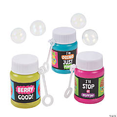 Funtastic Food Friends Scented Mini Bubble Bottles