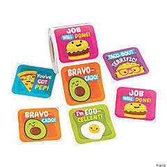 Funtastic Food Friends Sticker Rolls