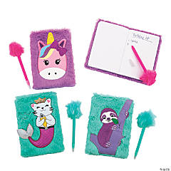 Furry Animals Notebook & Pen Sets