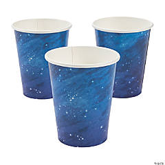 Galaxy Party Paper Cups