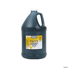 Gallon Washable Black Tempera Paint
