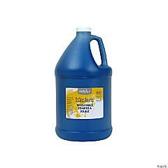 Gallon Washable Blue Tempera Paint