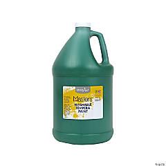 Gallon Washable Green Tempera Paint