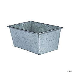 Galvanized Metal Rectangular Box