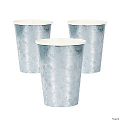 Galvanized Paper Cups