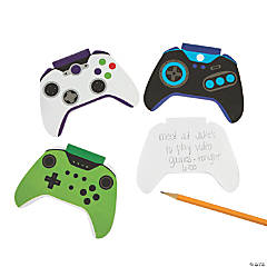 Game Controller Shaped Notepads