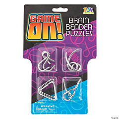 Game On™ Brain Bender Puzzle Assortment