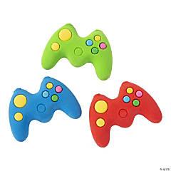 Gamer Controller Erasers - 24 Pc.