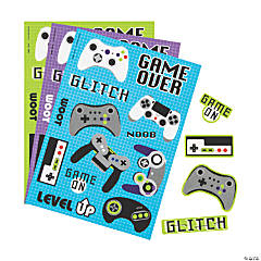 Gamer Sticker Sheets