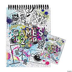 Games 2 Go Activity Book