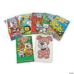 Games & Coloring Sheets Activity Pad Assortment
