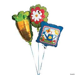 Garden Party Mylar Balloons