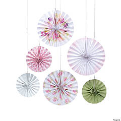 Garden Party Printed Hanging Fans