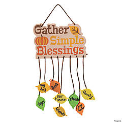 Gather Simple Blessings Mobile Craft Kit