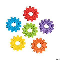 Gear Erasers - 24 Pc.