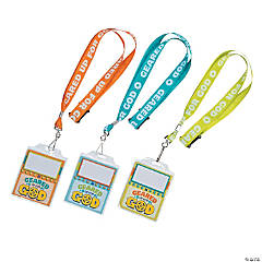 Geared Up for God VBS Name Tag Lanyards