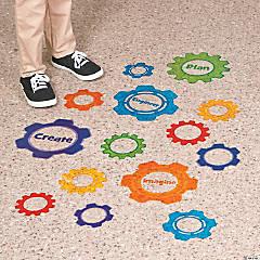 Gears Floor Decals