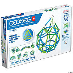 Geomag™ Green Line Color, 142 Pieces