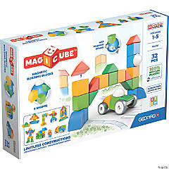 Geomag™ Magicubes Shapes Recycled, 32 Pieces