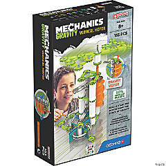 Geomag™ Mechanics Gravity Vertical Motor Recycled, 183 Pieces