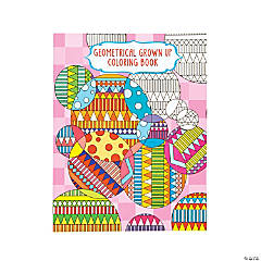 Geometrical Design 2 Adult Coloring Book