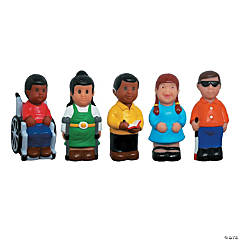 Get Ready Kids Friends with Disabilities Play Figures, Set of 5