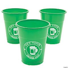 Get Your Irish On Plastic Cups
