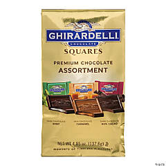 Ghirardelli Chocolate Squares Premium Assortment, 4.85 oz, 3 Pack