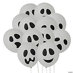 """Ghost 11"""" Latex Balloons Halloween Décor"""