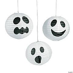 Ghost Hanging Paper Lanterns Halloween Décor