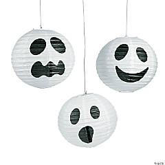 Ghost Hanging Paper Lanterns Halloween Decorations