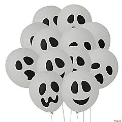 Ghost Latex Balloons