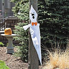 Ghost Tree Hugger Halloween Décor