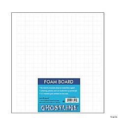 Ghostline® Foam Board, White, 11