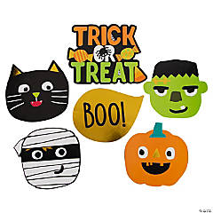 Ghoul Gang Cutouts Halloween Decorations