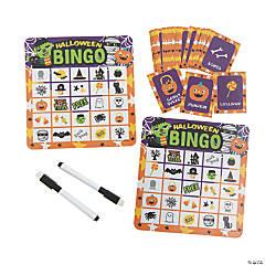 Ghoul Gang Dry Erase Halloween Bingo Game