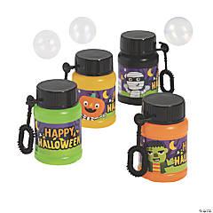 Ghoul Gang Mini Bubble Bottles - 12 Pc.