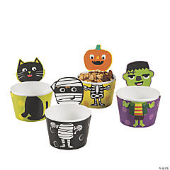 Ghoul Gang Paper Snack Cups